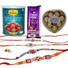Send Opportune Navratna Rakhi to the Brother You Love and Admir